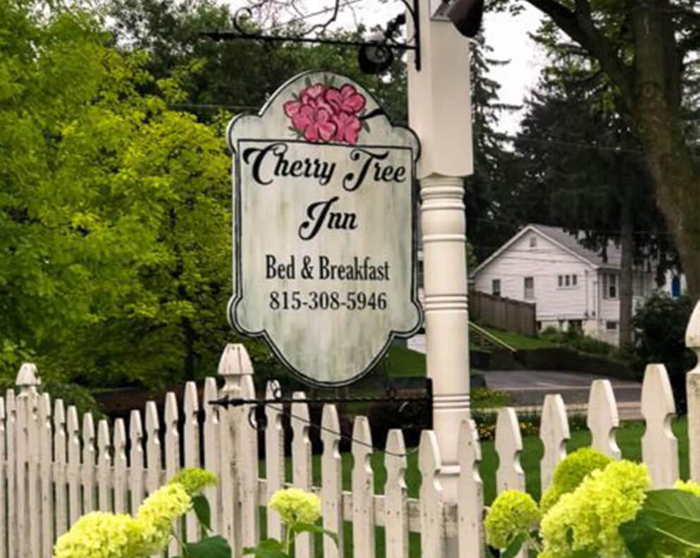 Cherry Tree B&B More Than a Movie Set | Cherry Tree Inn B&B, Woodstock, IL