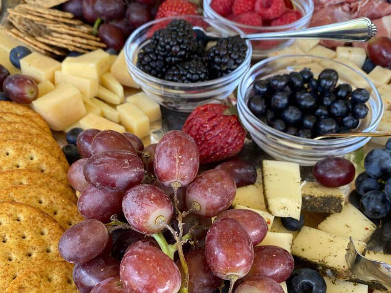 Charcuterie Board Wine | Cherry Tree Inn Bed and Breakfast | Woodstock, IL