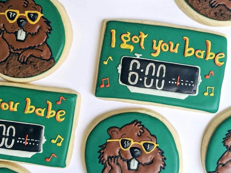 Custom Cookies | Cherry Tree Inn Bed and Breakfast | Woodstock, IL