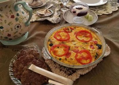 Breakfast Food | Cherry Tree Inn Bed and Breakfast | Woodstock, IL
