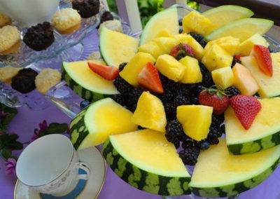 Breakfast Fruit | Cherry Tree Inn Bed and Breakfast | Woodstock, IL