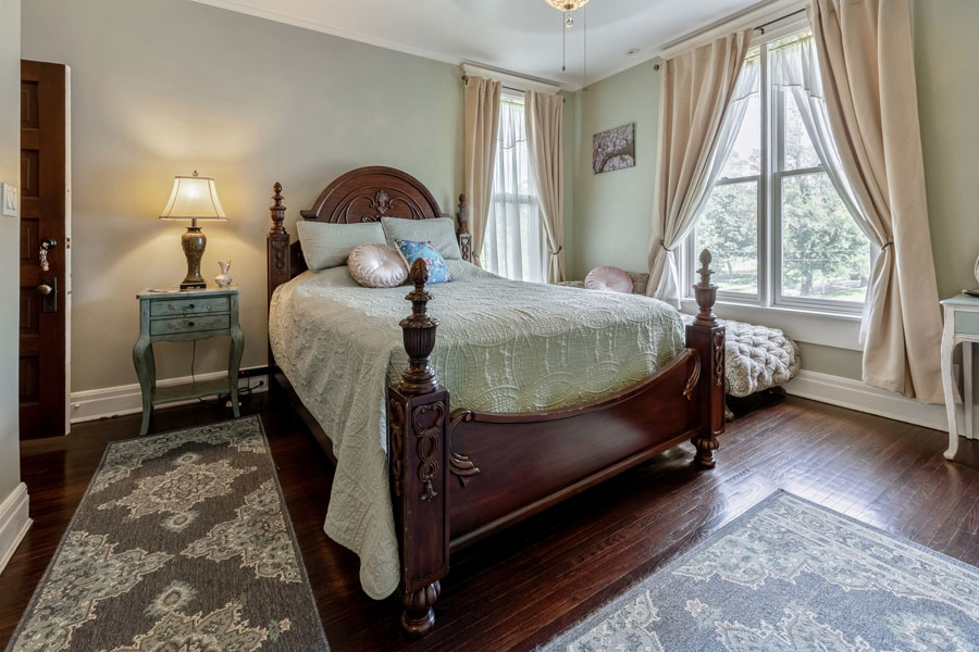 The Cherry Blossom Suite Bedroom | Cherry Tree Inn Bed and Breakfast | Woodstock, IL