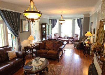 Living Room | Cherry Tree Inn | The Groundhog Day House | IL