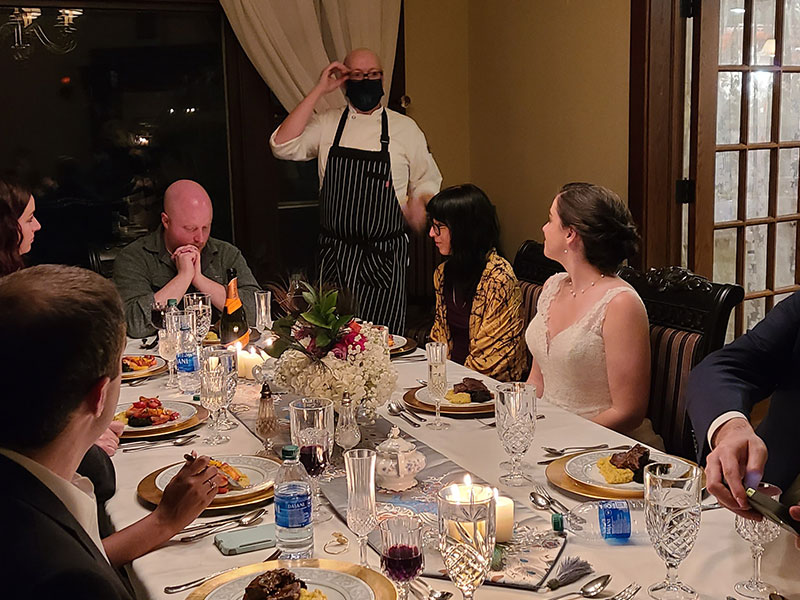 Event Dining Party | Cherry Tree Inn B&B, Woodstock, IL